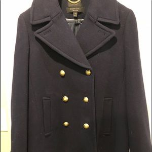 J.Crew Navy Wool Peacoat